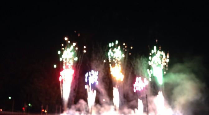 小郡花火大会2014(山口市)