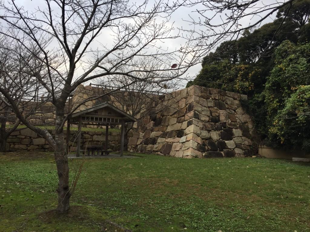 串崎城跡。