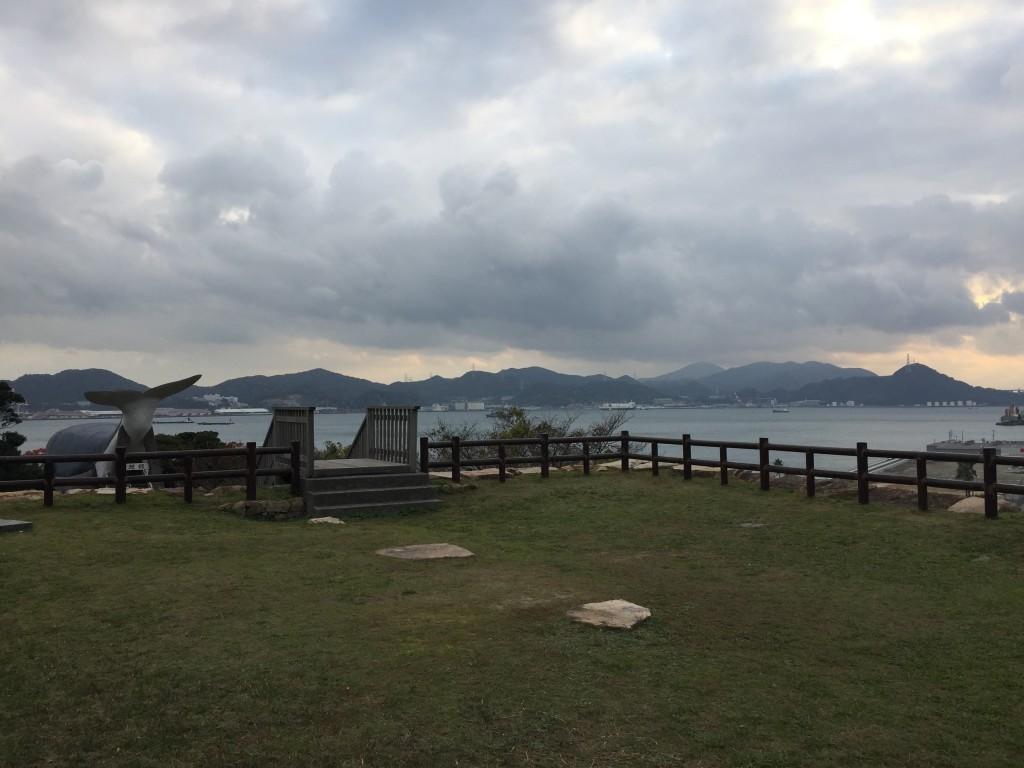 関見台公園からの眺め。