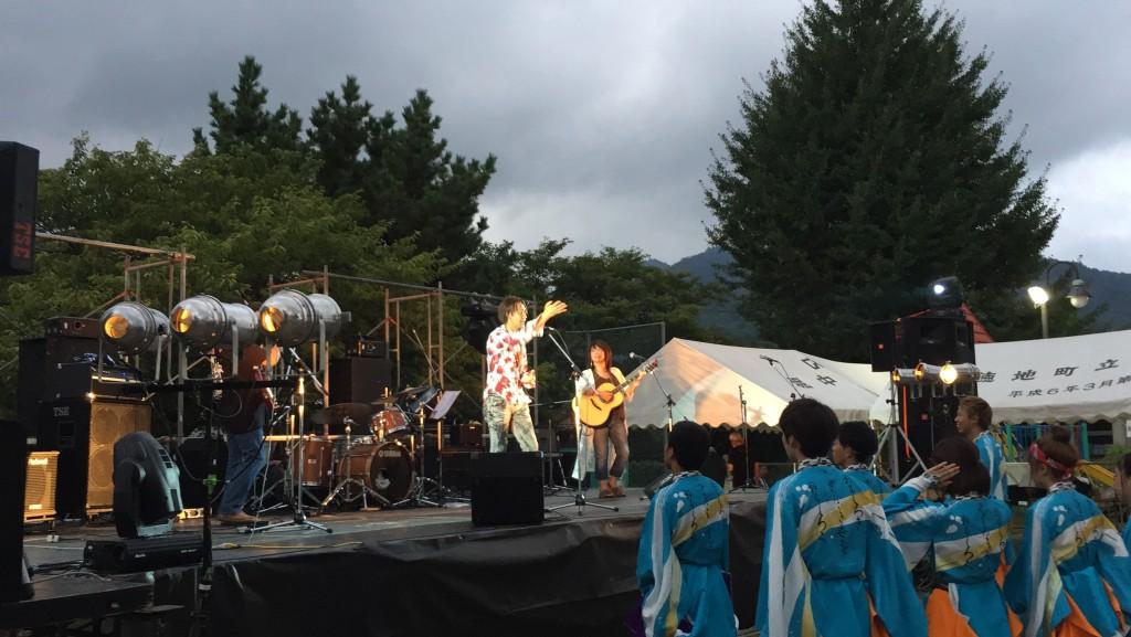 ステージでのコンサート。