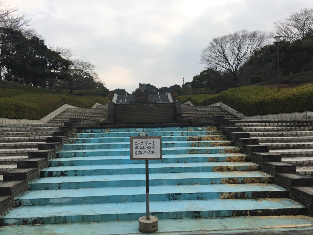噴水の場所。