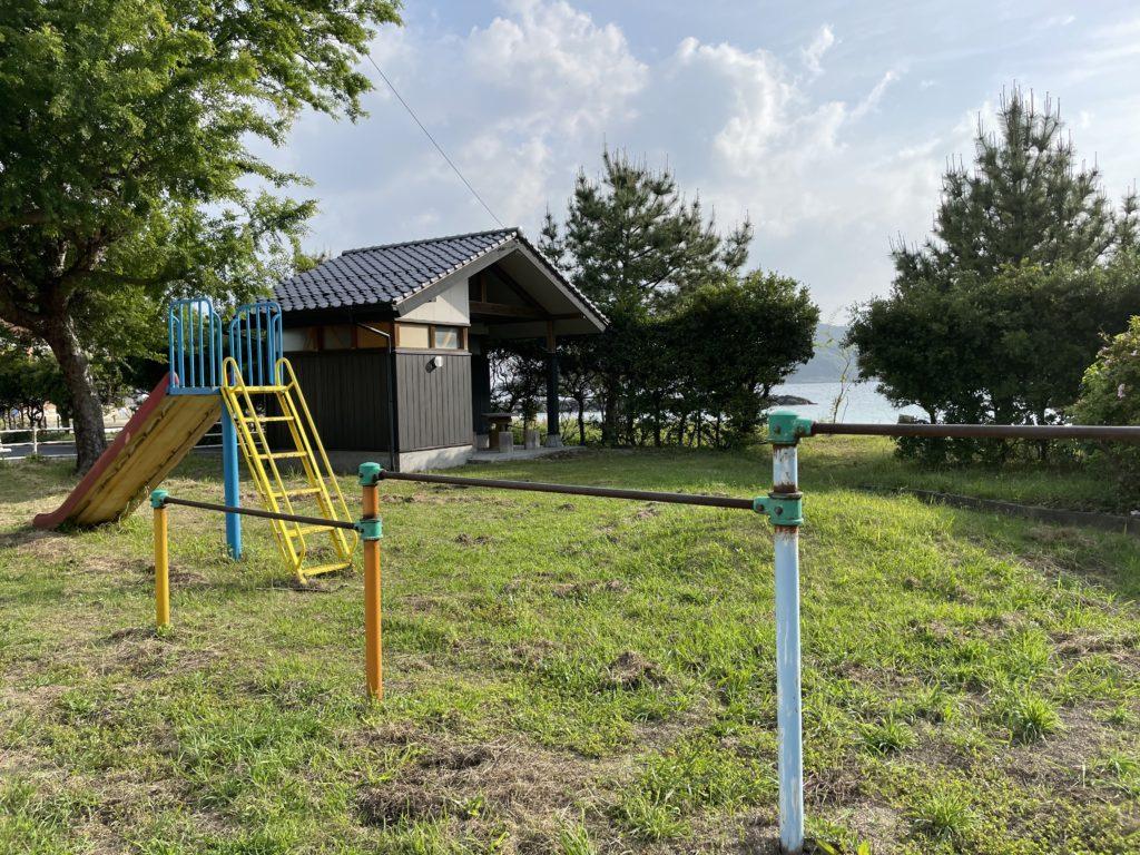 笹子公園。トイレもある。